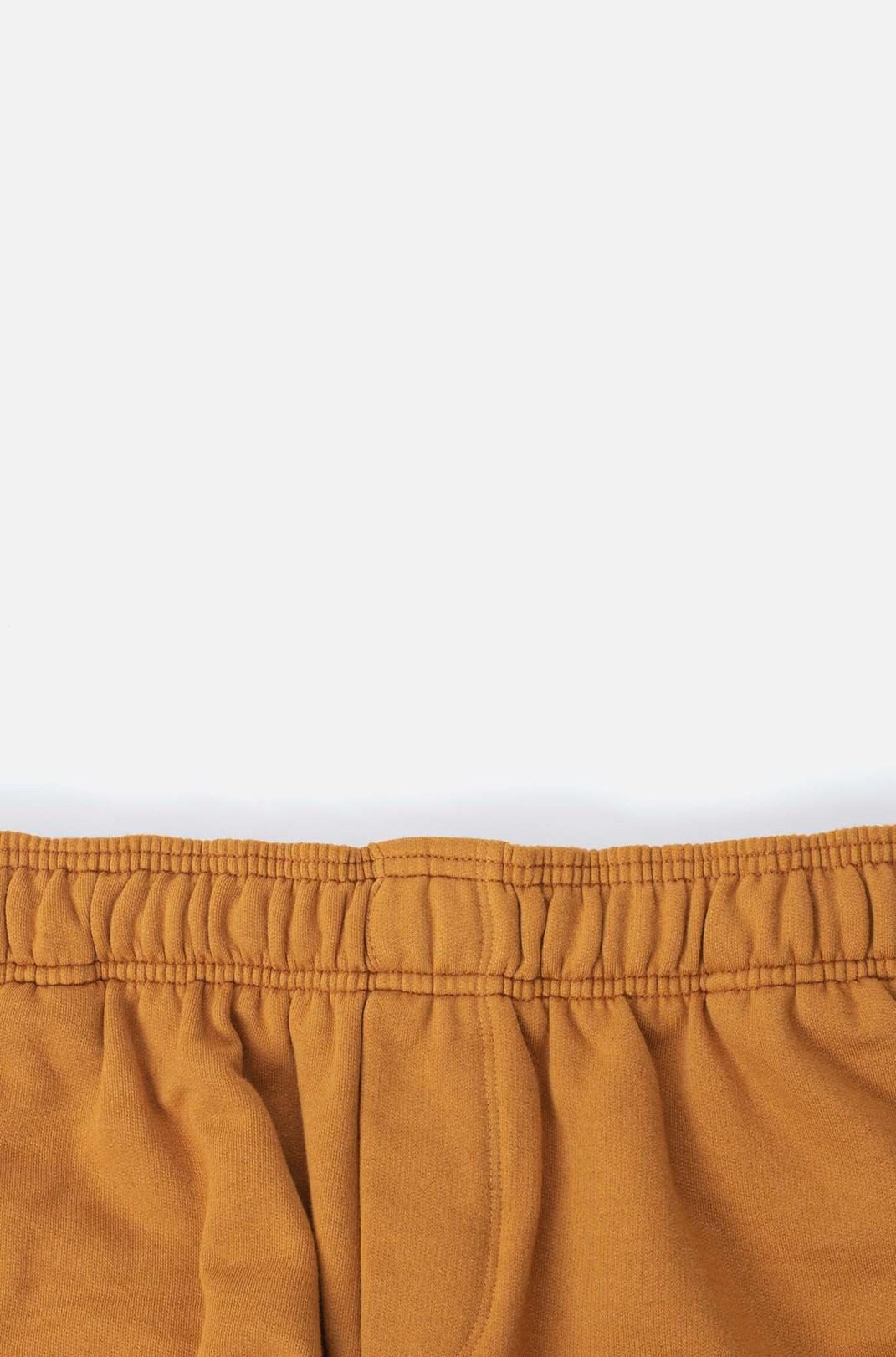 Shorts Moletom Approve Doodle Laranja
