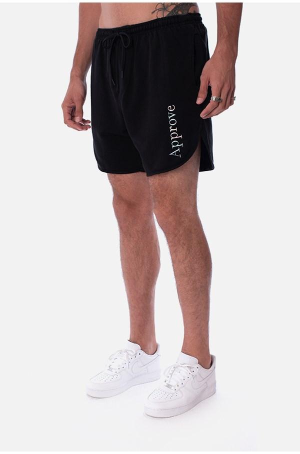 Produto Shorts Moletom Approve Mirage Preto