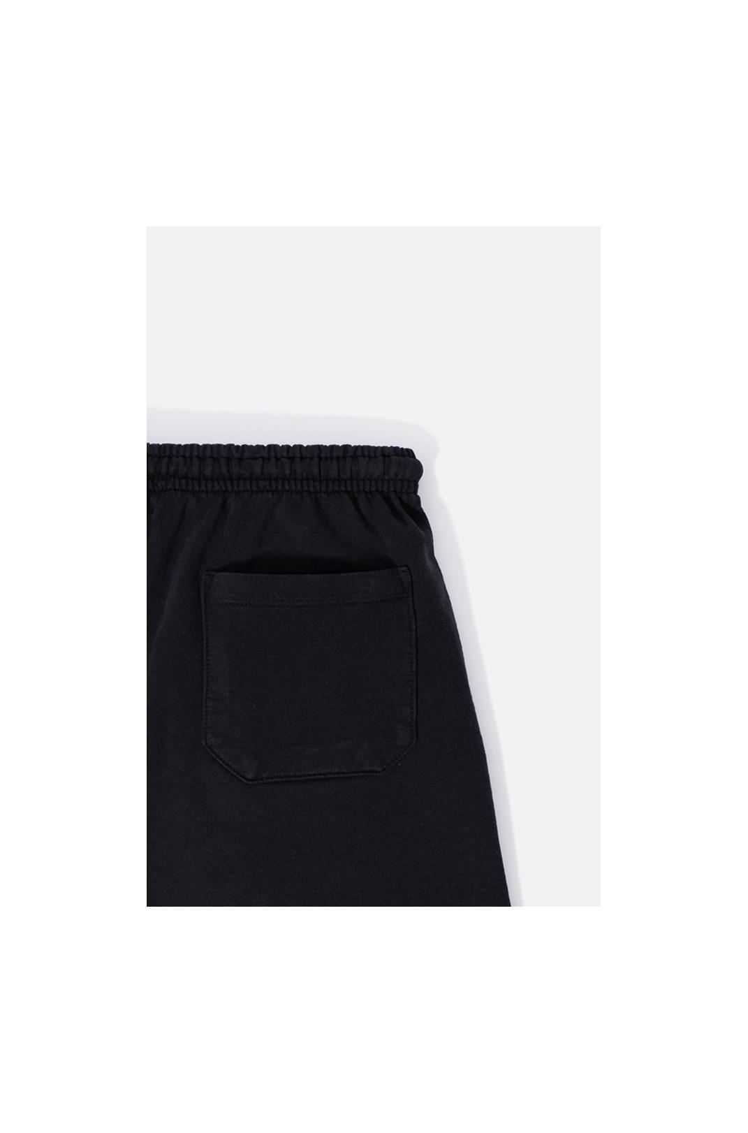 Shorts Moletom Approve Monochromatic Preto