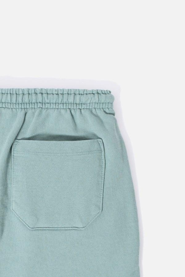 Shorts Moletom Approve Monochromatic Verde
