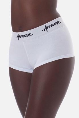 Shorts Underwear Approve Branco