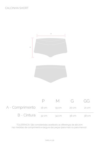 Shorts Underwear Approve Cinza