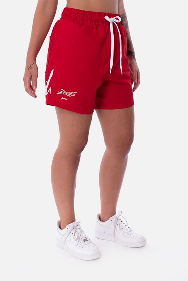 Shorts Unissex Appprove X Budweiser Vermelho