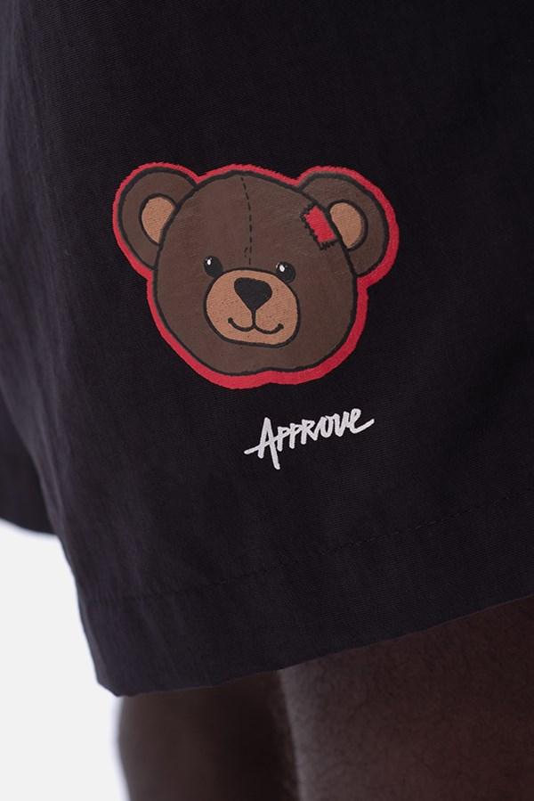 Shorts Unissex Approve Bear Summer Preto