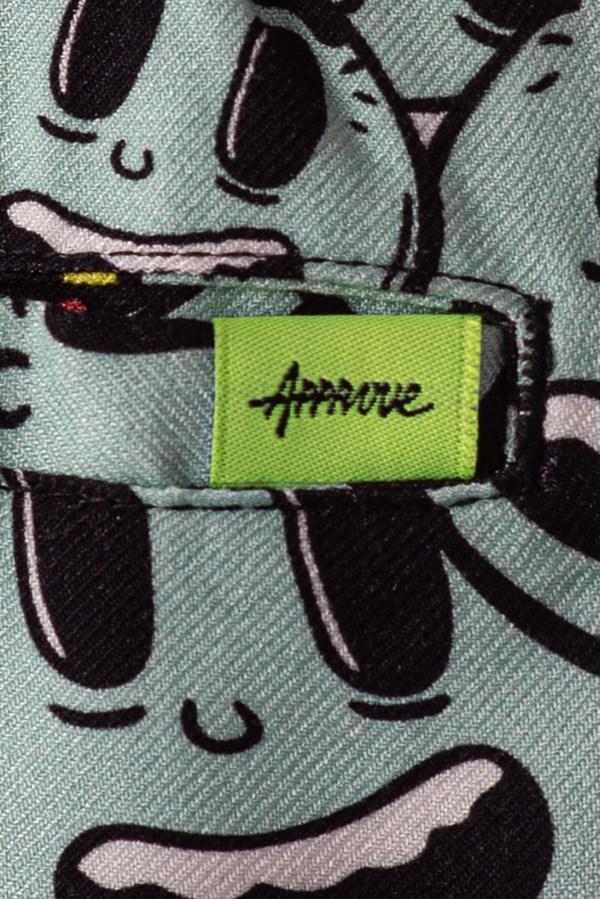 Shorts Unissex Approve Cartoon