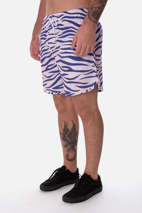 Shorts Unissex Approve Lysergic Tigre Lilás