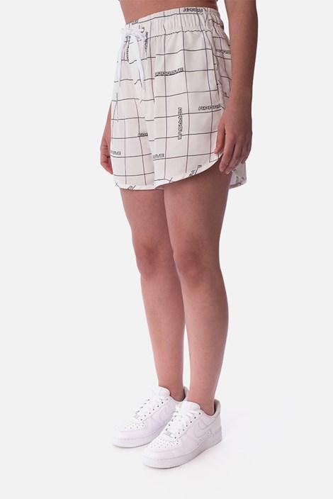 Shorts Unissex Approve Robotik Branco