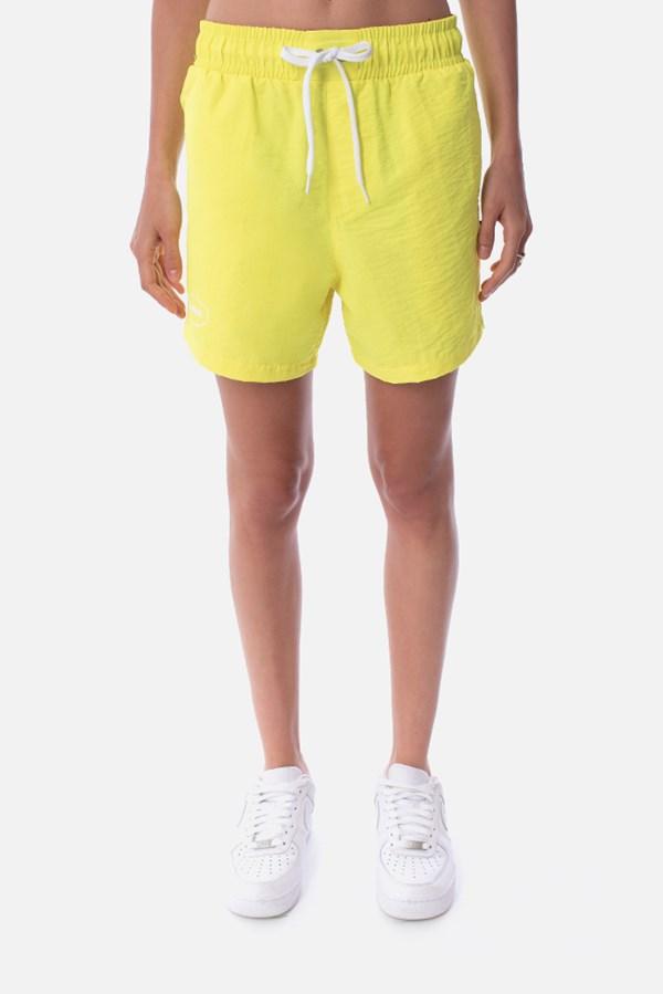 Shorts Unissex Approve Swimwear Amarelo Neon
