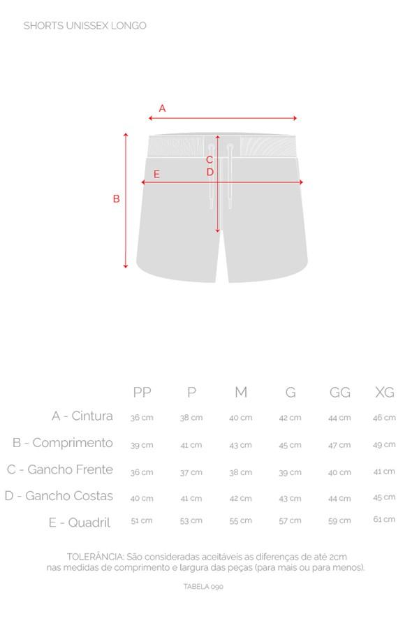 Shorts Unissex Approve Swimwear Laranja