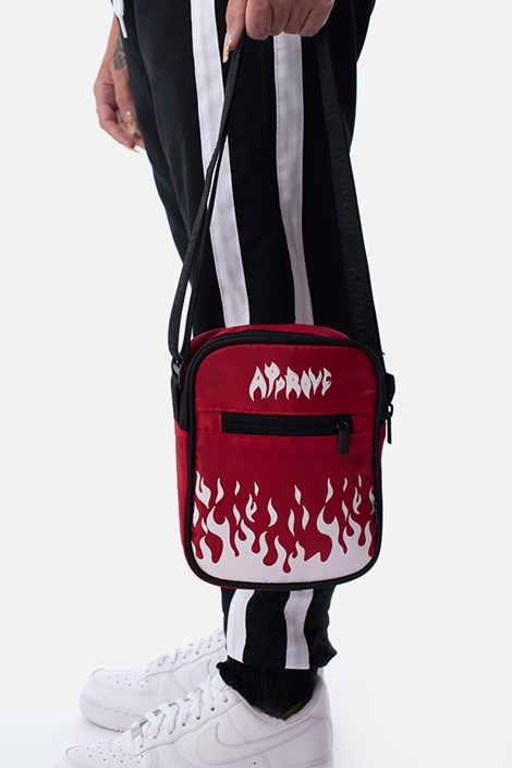 Shoulder Bag Approve Flames Vermelha