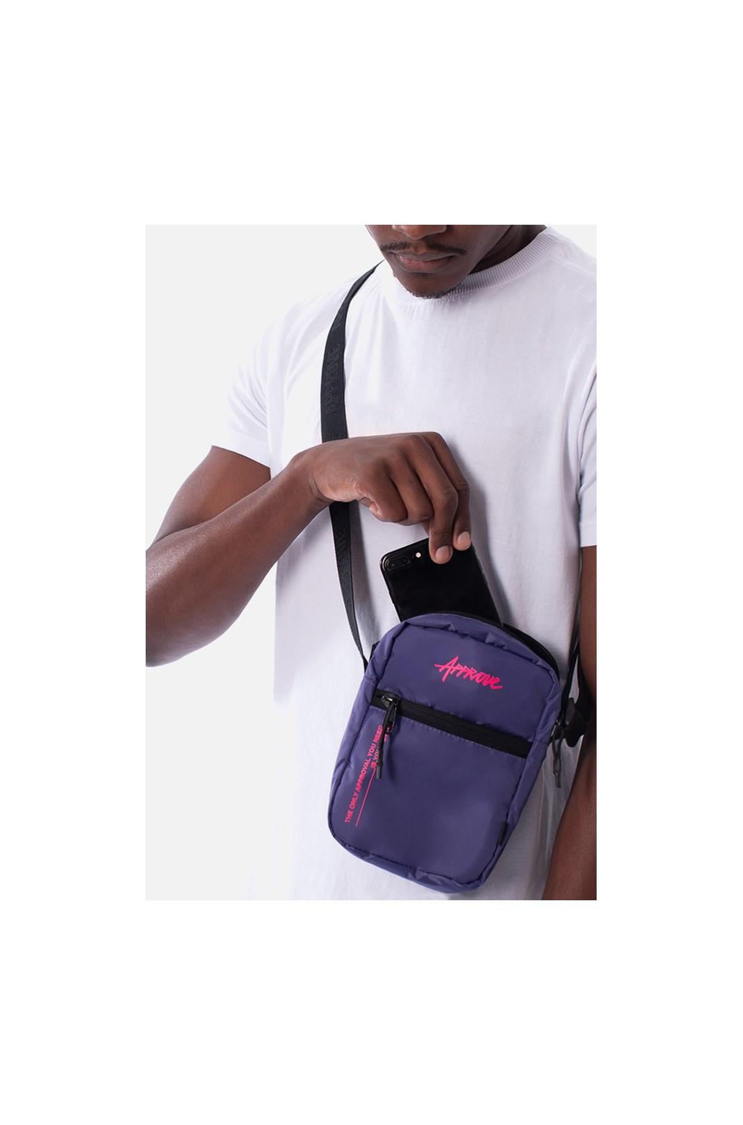 Shoulder Bag Approve Techtype Roxa