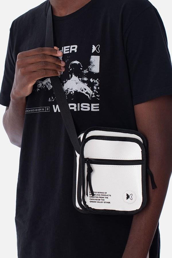 Shoulder Bag Green Valley Off White