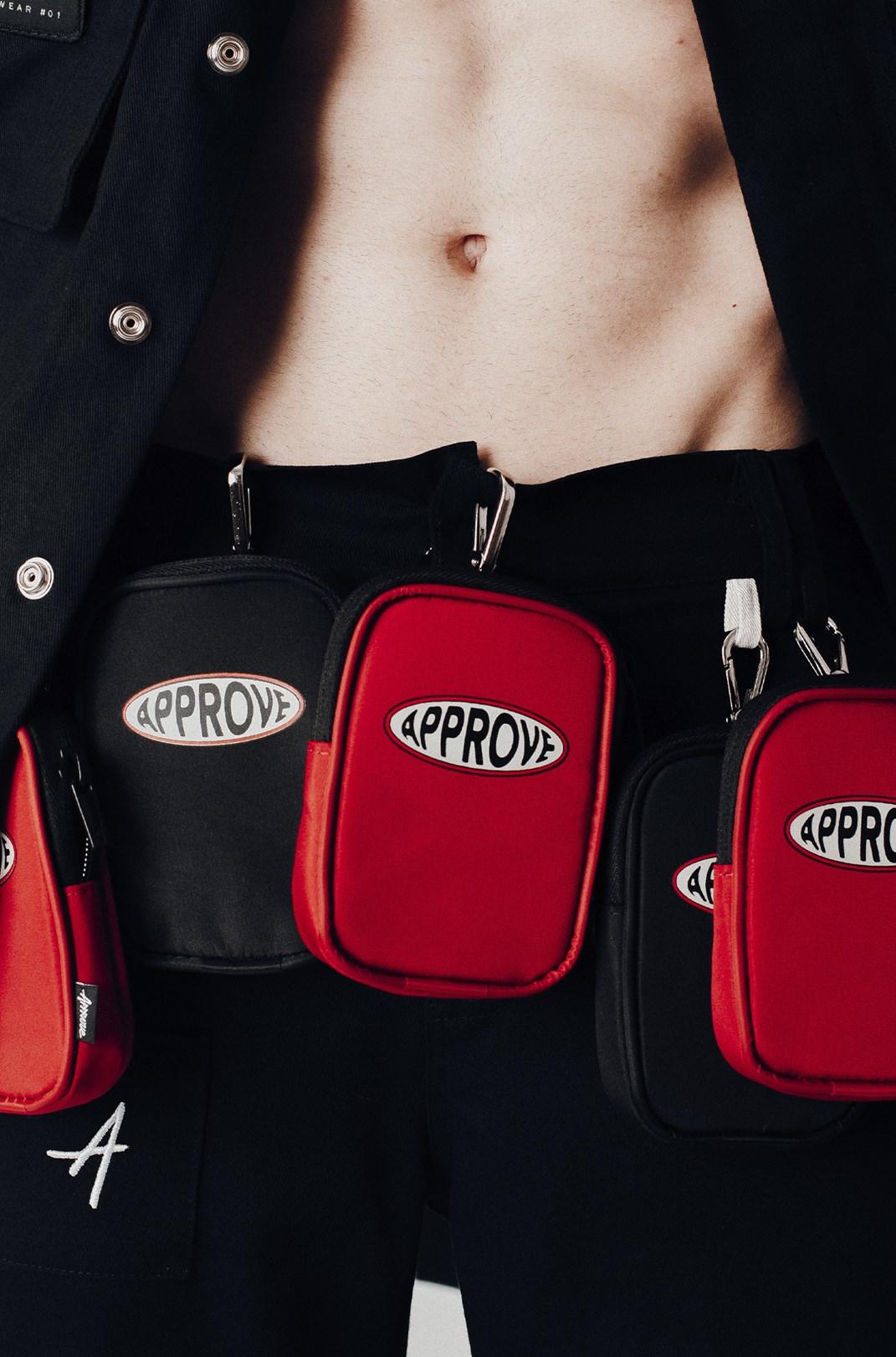 Small Bag Approve Workwear Preta