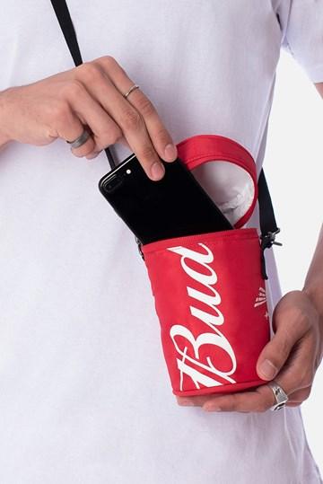 Small Bag Circular Térmica Approve X Budweiser Vermelha